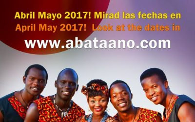 Aba Taano return to Europe in spring 2017