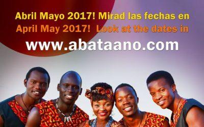 Vuelven los Aba Taano a Europa en primavera de 2017