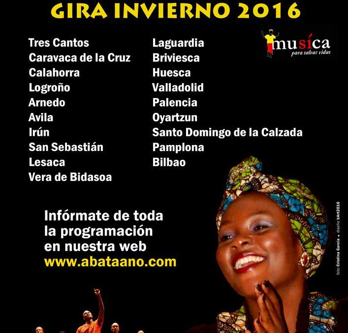 ABA TAANO GIRA DE INVIERNO 2016