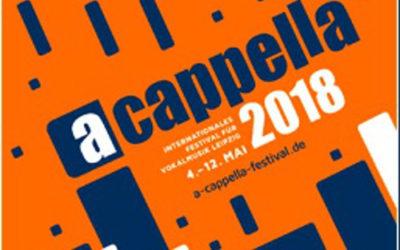 Aba Taano participará en A Cappella de Leipzig 2018.