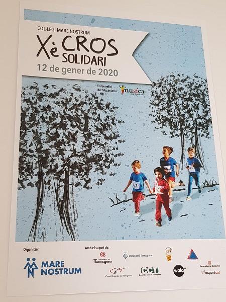 Cross solidario en Tarragona en favor de Música Para Salvar Vidas.