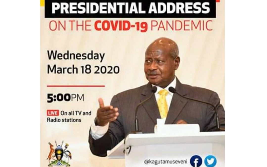 Presidential Address on the COVID-19